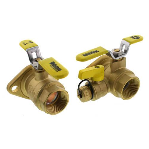 "1-1/4"" Threaded Isolator Circulator Pump Install Kit w/ Rotating Flange (Lead Free) Product Image"