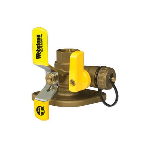 "1-1/2"" Threaded Isolator w/ MF Drain & Rotating Flange - High Velocity - Lead Free Product Image"