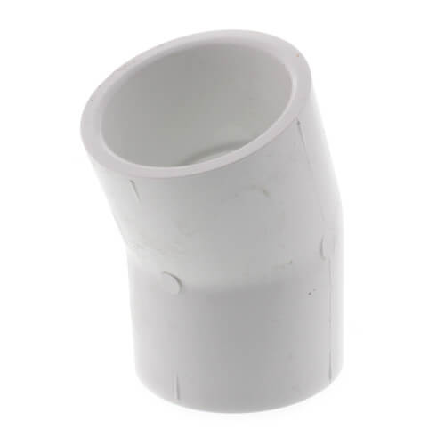 "1-1/2"" PVC Sch. 40 22.5° Elbow Product Image"