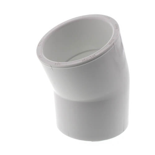 """2-1/2"""" PVC Sch. 40 22.5° Elbow Product Image"""