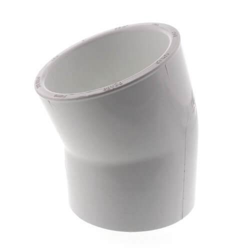 "3"" PVC Sch. 40 22.5° Elbow Product Image"