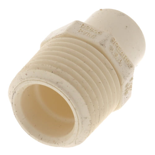 """1/2"""" CTS CPVC Male Adapter (MIPT x Spigot) Product Image"""