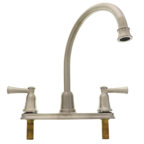Cleveland Faucet Capstone Two-Handle High Arc Kitchen Faucet (Classic Stainless) Product Image