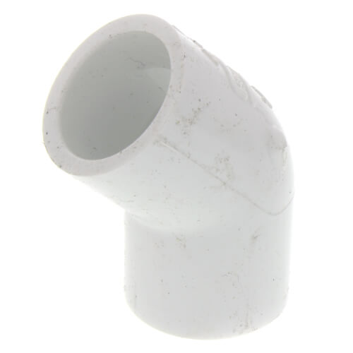 "1/2"" PVC Sch. 40 45° Elbow Product Image"