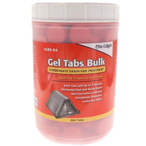 Condensate Pan Gel Tabs, 3 Ton (Bulk, 200 Count) Product Image