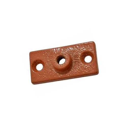 "3/8"" Copper Epoxy Coated Ceiling Plate Product Image"
