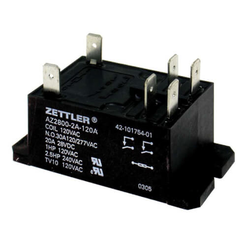 Relay - DPST-NO (120VAC coil) Product Image