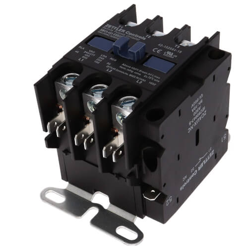 40A 3-Pole Contactor w/ AUX (24V) Product Image