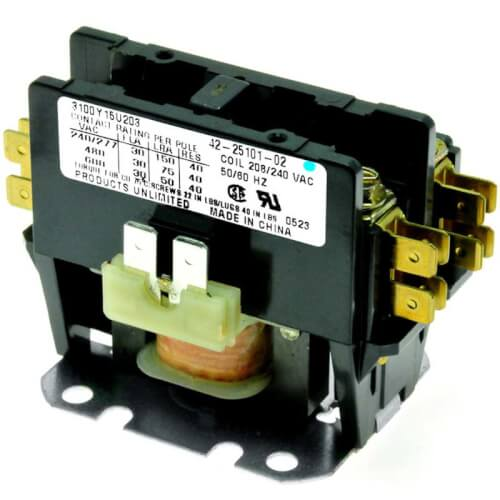PROTECH Contactor - 30A 1-Pole (208-230V coil) Product Image