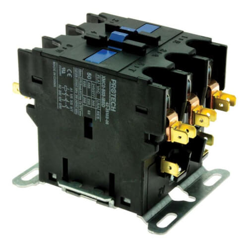 PROTECH Contactor - 50A 3-Pole (208-230V coil) Product Image