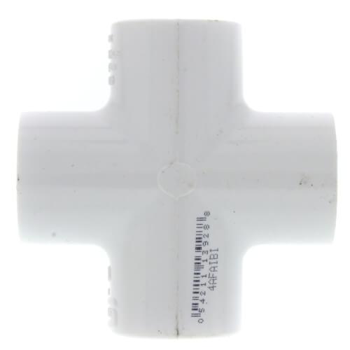 "1/2"" PVC Sch. 40 Cross Product Image"
