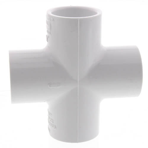 "2-1/2"" PVC Sch. 40 Cross Product Image"