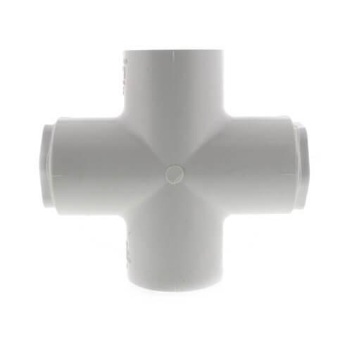 "1-1/4"" x 1"" PVC Sch. 40 Cross Product Image"