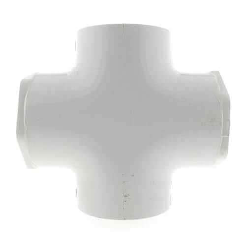"4"" x 2"" PVC Sch. 40 Cross Product Image"