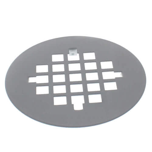 "4-1/4"" Universal Snap-Tite White Strainer Product Image"