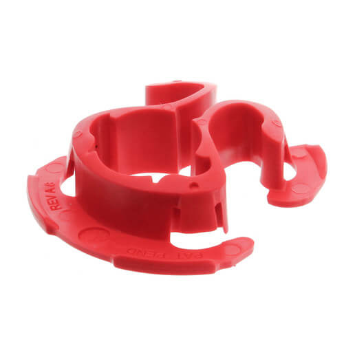 "1/2"" Red Tubing Isolator (UL 94 V2 Rated) Product Image"
