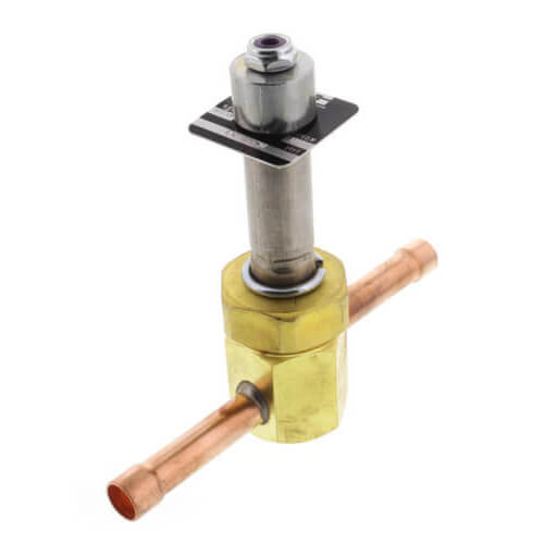 "3/8"" ODF R33E93 Normally Open Refrigeration Solenoid Valve Product Image"