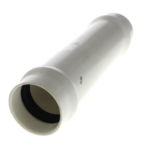 """2"""" PVC Sch. 40 Fabricated Repair Coupling (Gasket x Gasket) Product Image"""