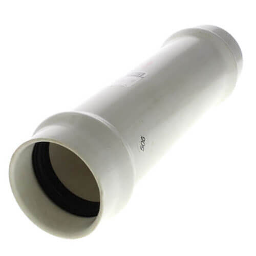 """4"""" PVC Sch. 40 Fabricated Repair Coupling (Gasket x Gasket) Product Image"""