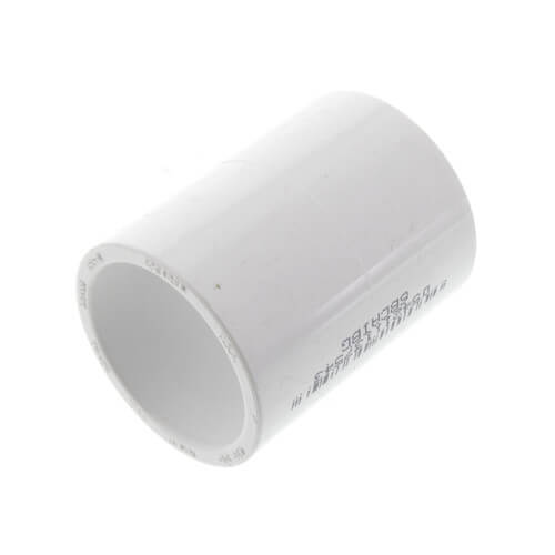 """1"""" PVC Schedule 40 Coupling Product Image"""