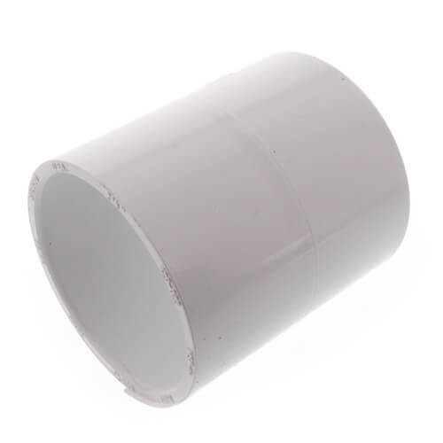 1 Socket 1 Socket Spears Manufacturing Coupling Spears 429 Series PVC Pipe Fitting Schedule 40 White