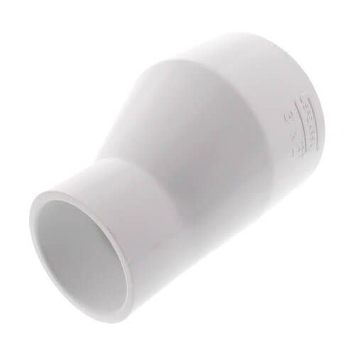 """3"""" x 2"""" PVC Schedule 40 Eccentric Reducer Product Image"""