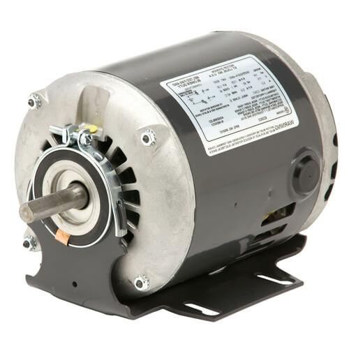 2-Speed ODP Split Phase Belted Fan & Blower Motor, 56 (115V, 1/2 HP, 1725/1140 RPM) Product Image