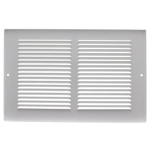 """10"""" x 4"""" (Wall Opening Size) White Return Air Grille (650 Series) Product Image"""