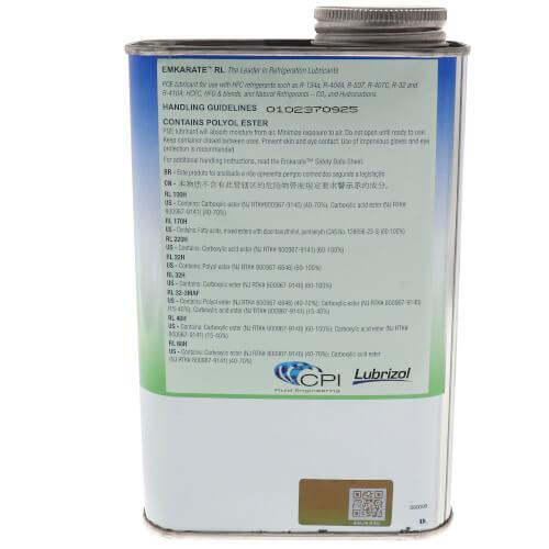 Emkarate RL32-3MAF Refrigeration Oil, 1 Qt. Product Image