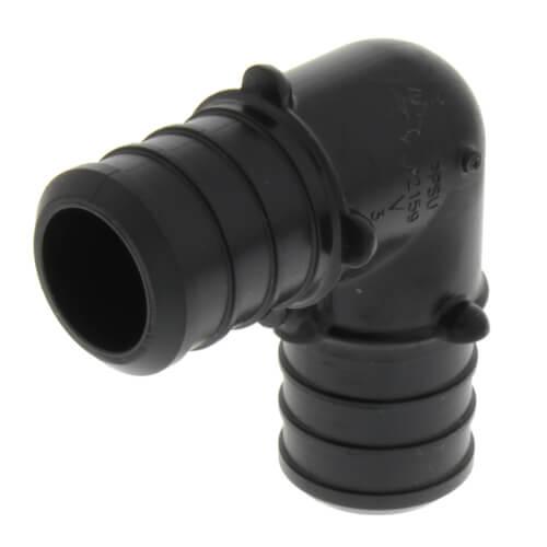 "3/4"" PureFlow PolyAlloy PEX Crimp 90° Elbow Product Image"