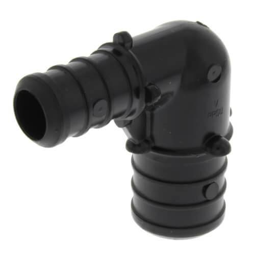 "3/4"" x 1/2"" PureFlow PolyAlloy PEX Crimp 90° Elbow Product Image"