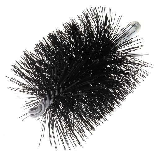 """3-3/4"""" Spring Grade Tempered Wire Brush for 4"""" Flue (Total Length: 7-1/2"""") Product Image"""