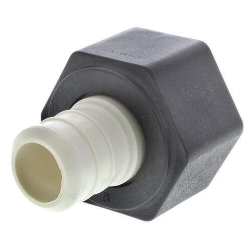 """3/4"""" PEX Crimp x 3/4"""" Lav PureFlow Adapter (Plastic Nut) Product Image"""