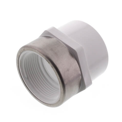 """1-1/2"""" PVC Schedule 40 Spec. Reinforced Female Adapter Product Image"""