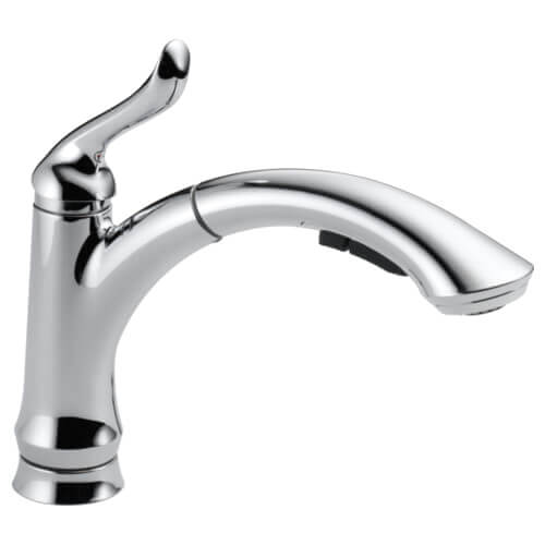 Linden Single Handle Pull-Out Kitchen Faucet (DST) Product Image