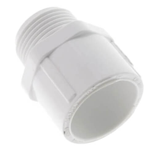 "3/4"" PVC SCH 40 Male Adapter Product Image"