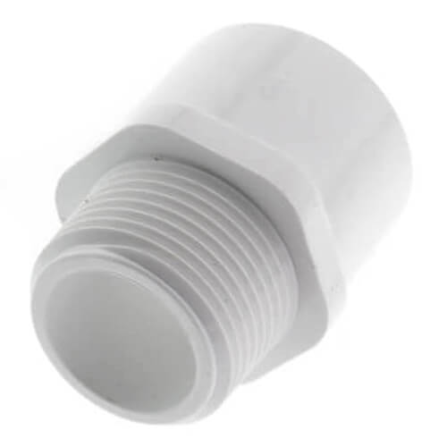 """1"""" PVC SCH 40 Male Adapter Product Image"""