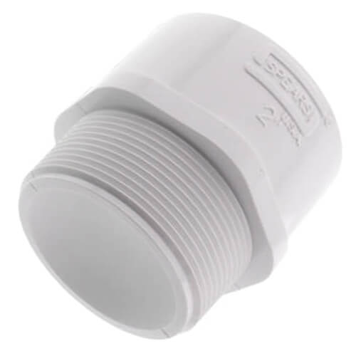 """2"""" PVC SCH 40 Male Adapter Product Image"""