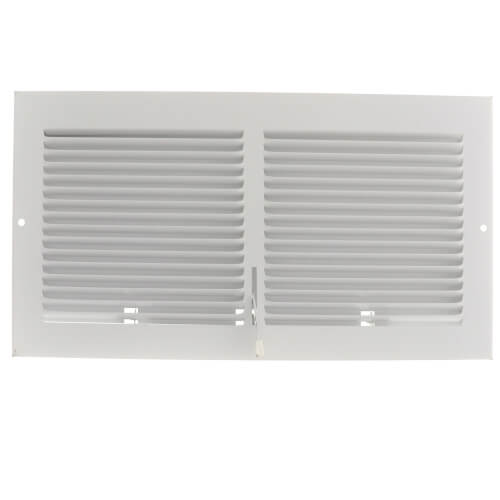 "12"" x 6"" (Wall Opening Size) White Sidewall Register (651 Series) Product Image"