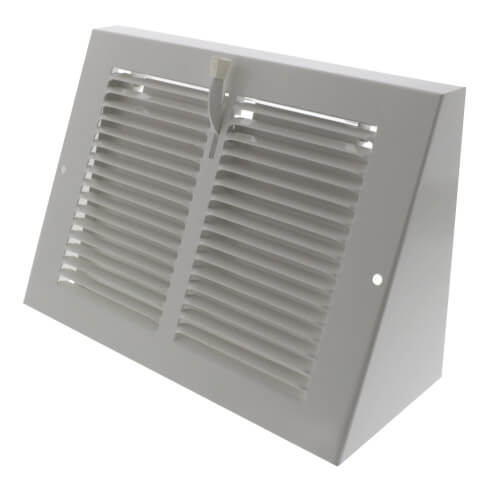 """8"""" x 6"""" Baseboard Register with Damper (655 Series) Product Image"""