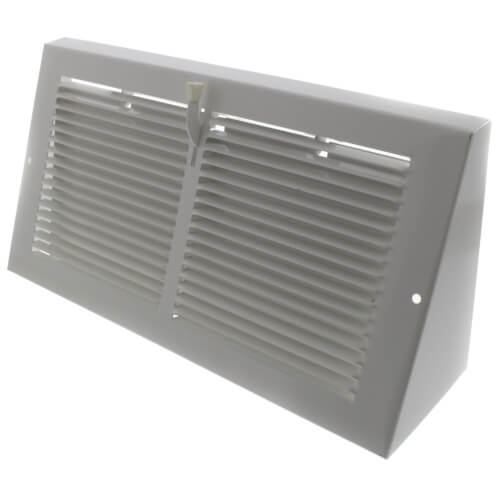 "12"" x 6"" Baseboard Register with Damper (655 Series) Product Image"
