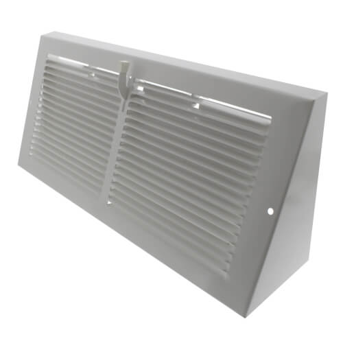 "14"" x 6"" Baseboard Register with Damper (655 Series) Product Image"