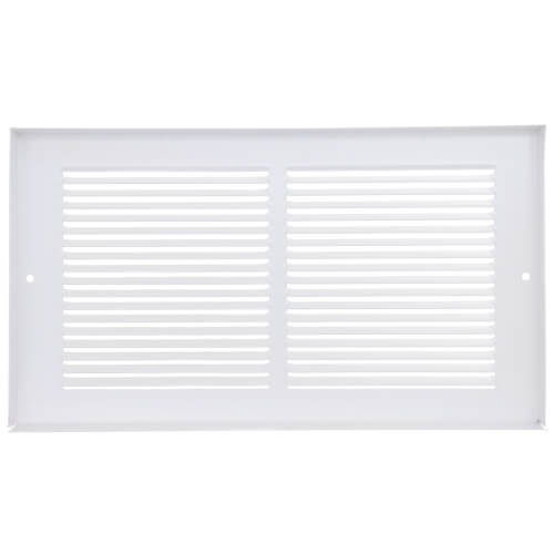 """12"""" x 8"""" (Wall Opening Size) Golden Sand Baseboard Return Air Grille (657 Series) Product Image"""