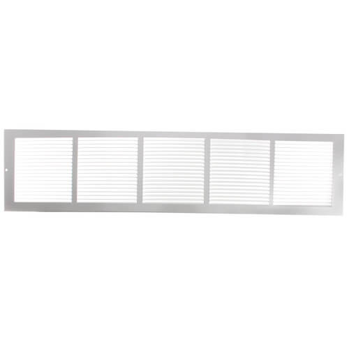 "30"" x 6"" Golden Sand Baseboard Return Air Grille (657 Series) Product Image"