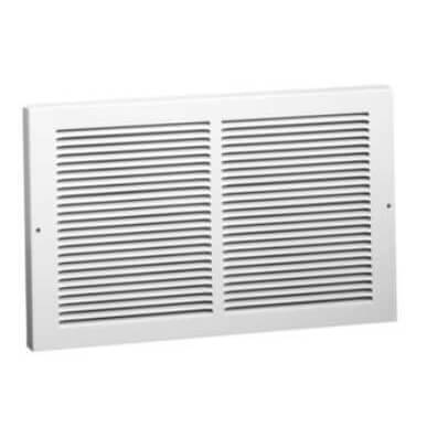 """30"""" x 12"""" White Baseboard Return Air Grille (657 Series) Product Image"""