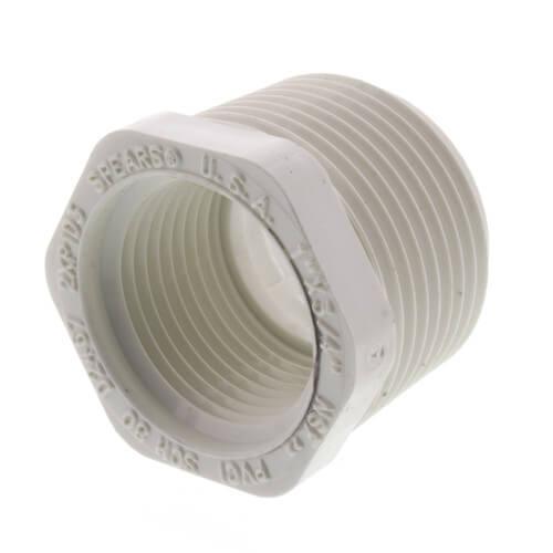 "1"" x 3/4"" PVC SCH 40 M x F Bushing Product Image"