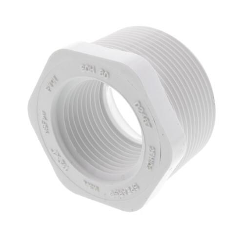 "1-1/2"" x 1"" PVC SCH 40 M x F Bushing Product Image"