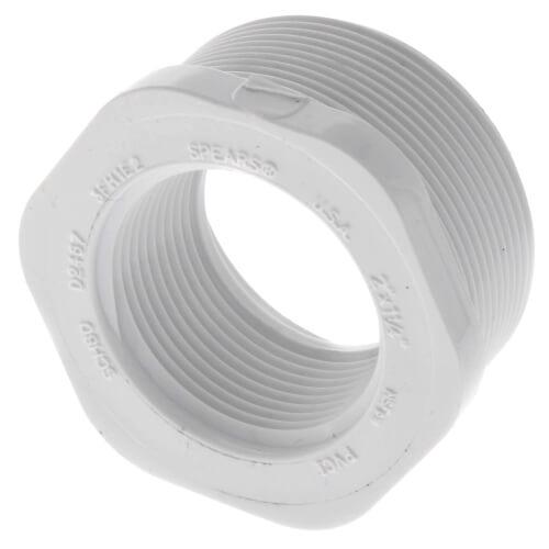 "2"" x 1-1/4"" PVC SCH 40 M x F Bushing Product Image"