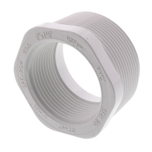 "2"" x 1-1/2"" PVC SCH 40 M x F Bushing Product Image"