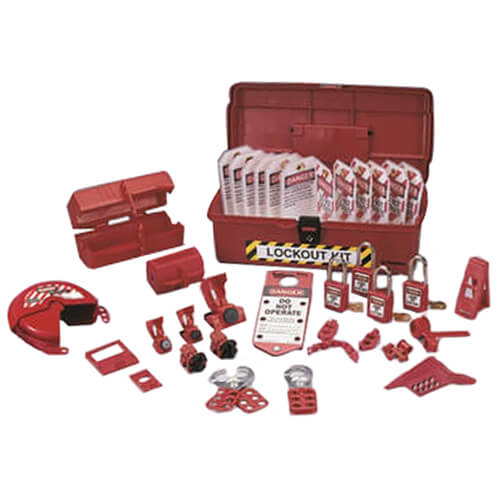 Industrial Lockout/Tagout Kit Product Image